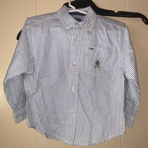Tommy Hilfiger boys 3T button down